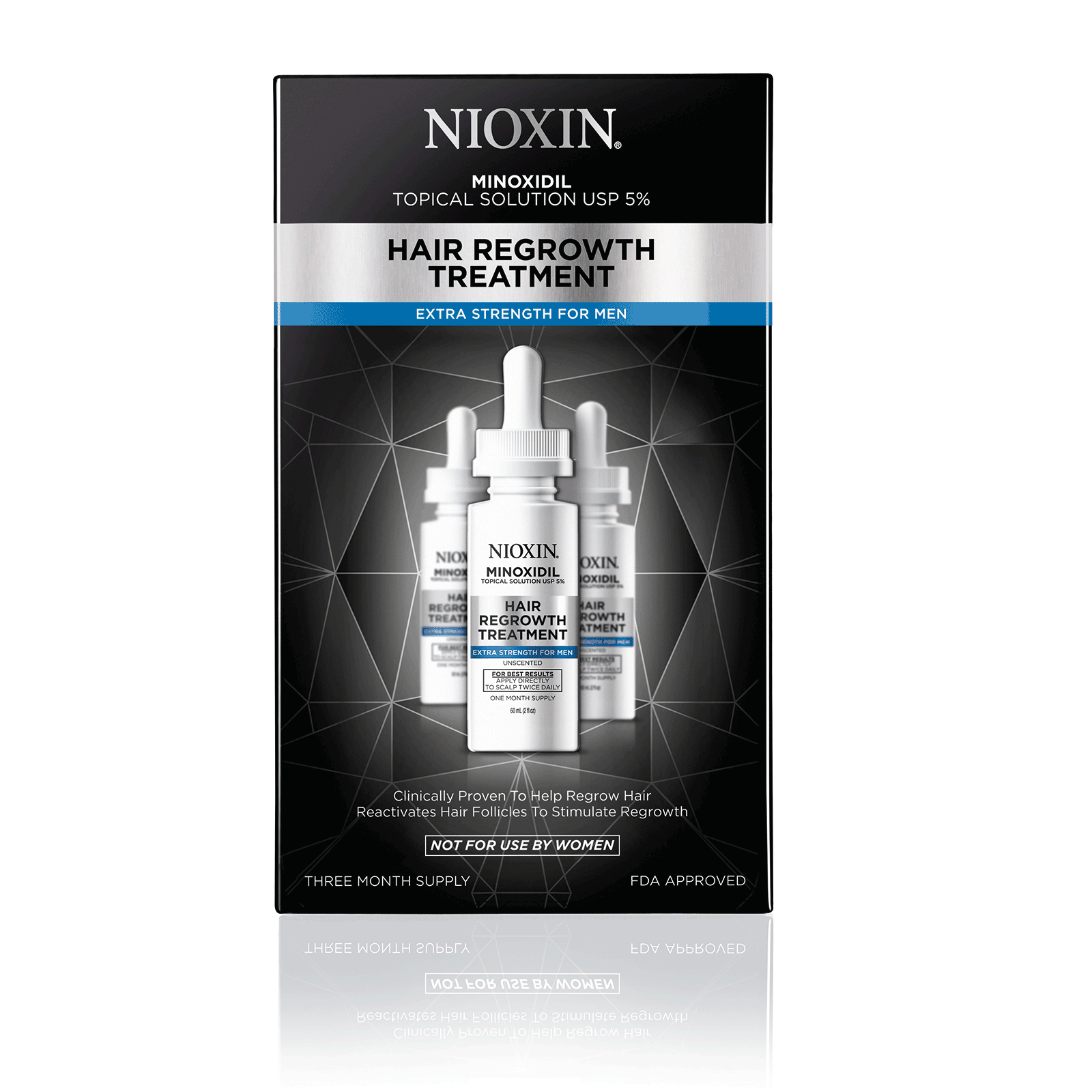 Hair Growth Treatment - Mens 90 Day Supply by Nioxin