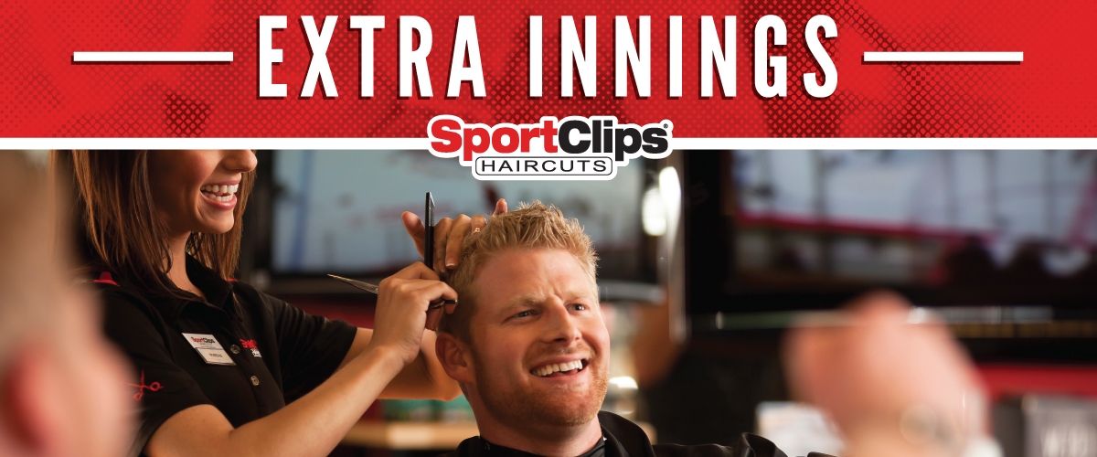 The Sport Clips Haircuts of Bee Cave Extra Innings Offerings