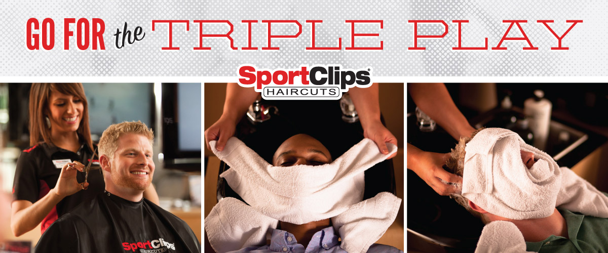 The Sport Clips Haircuts of Bee Cave Triple Play